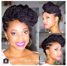 Le soin a utiliser avec une coiffure protectrice et cheveux naturels crépus - Nappy boucles