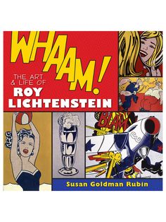 Whaam! The Art and Life of Roy Lichtenstein (Hardcover) by Abrams at Gilt