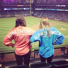 Alpha Chi Omega Spirit Jerseys ! <3