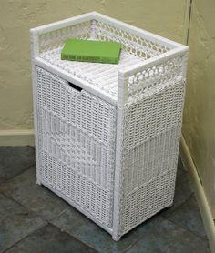 Fran's Wicker Furniture Front Load Laundry Hamper