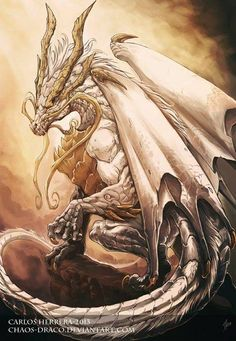 Is it just me, or does it look like this dragon could be from the Diablo franchise?