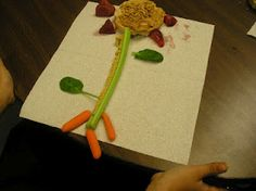 Plants: roots - carrots, stems - celery, leaves - spinach, fruit - strawberries, seeds - sunflower seeds