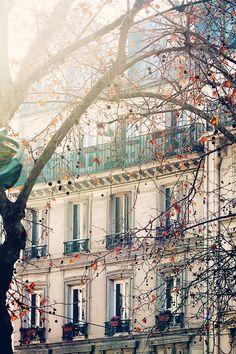 Montmartre in the Winter