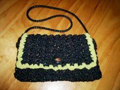Cats-Rockin-Crochet Fibre Artist.: Crochet Puff Stitch Purse. Speedy Pattern.