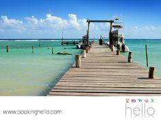 EL MEJOR ALL INCLUSIVE AL CARIBE. Mahahual es el sitio perfecto en la Riviera Maya, para alejarse de lo cotidiano; un lugar donde tú y tus amigos, vivirán una experiencia única entre la naturaleza. En este pequeño pueblo de pescadores, encontrarán el único muelle de cruceros del sur del estado, ideal para relajarse o agregar aventura snorkeleando y descubriendo la vida marina. En Booking Hello, les sugerimos darse la oportunidad de conocer lugares extraordinarios como éste, durante su viaje…