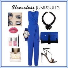 Sleeveless jumpsuits
