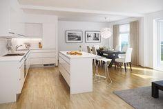 Nydalen - HUS 4 - 2,3 og 4 roms med balkonger og garasje i kjeller.