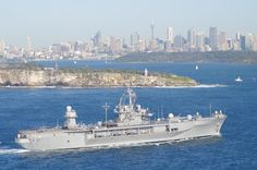 USS Blue Ridge, Sydney Harbor