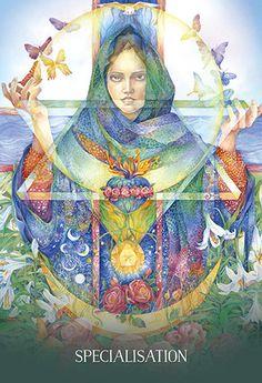 Sacred Earth Oracle by Toni Carmine Salerno & Leela J Williams; Artwork by Helena Nelson-Reed