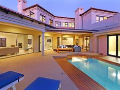 Santa Fe Crescent - Set within the upmarket seaside suburb of Big Bay, Santa Fe Crescent offers a luxurious getaway to guests.  It is the ideal option for groups or families looking for a memorable stay in this beautiful ... #weekendgetaways #bloubergstrand #southafrica
