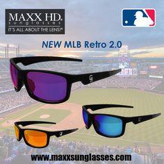 bbd32879b4 More ideas from Maxx Sunglasses. NEW MLB Retro 2.0 Hd Sunglasses