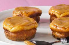 Mini Oreo cheesecakes met salted caramel