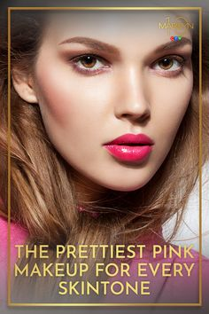 If wearing pink lipstick or eyeshadow still conjures up bad memories of the it's time to rethink this perfectly pretty colour. These fresh and modern makeup products are anything but outdated, and there is right shade for everyone. Glam Makeup Look, Pink Makeup, Face Makeup, Nars Velvet Matte, Matte Lips, Bold Lips, Pink Lips, Skin Shine, Everyday Makeup Routine