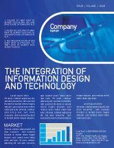Technology, Science & Computers: High Tech Digital Pen Newsletter Template #01890