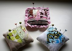 "FREE project: ""Sweetheart Pincushion"" (from Happy Together)"