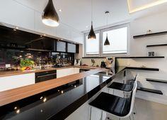 75 modern kitchen designs (photo gallery) | black kitchens