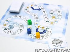 Activity for ages 3 to 6. I love teaching kids about the weather. There's something magical about the way the systems of the earth work together so smoothly to create our weather patterns. Even though my preschooler definitely doesn't understand the complexities of it, she is beginning to learn the words to describe the types …