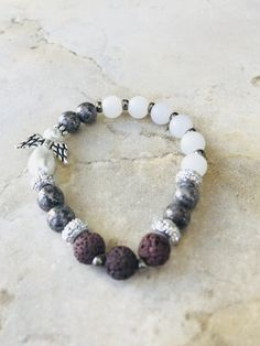 Excited to share the latest addition to my #etsy shop: Rasasvada Lava Bead Diffuser Bracelet Angel http://etsy.me/2D2r9Pj