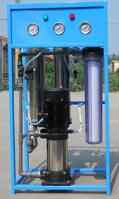 4 Stage Industrial Water Purification System DW300 ( Alat Pemurnian Air )