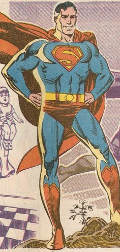 Anybody remember the pre-Crisis Superman of Earth-2? You know, Kal-L (not Kal-El), who became editor of the Daily Star and married Lois Lane? The one who was a member of the All-Star Squadron in WWII and grew old in the job? The one with the S-emblem that curiously resembles the one in the upcoming Man of Steel film? I do.