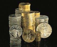 The West Point Mint produces gold, silver and platinum bullion coins.