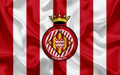 Lataa kuva Girona FC, football club, tunnus, Girona-logo, La Liga, Girona, Espanja, LFP, Espanjan Jalkapallon Mm-Kilpailut