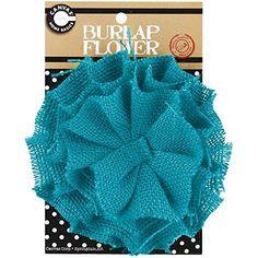 Canvas Corp CVS2085 Burlap Flower, 4-Inch, Teal Canvas http://www.amazon.com/dp/B00J88ERVI/ref=cm_sw_r_pi_dp_dabYub0W9RQXM