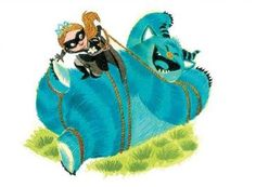 From: PRINCESS IN BLACK by Dean & Shannon Hale, illustrated by LeUyen Pham