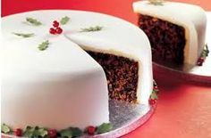 Beca Lyne-Pirkis and Michela Chiappa round off our festive dinner with Christmas Cake and ice cream Christmas Pudding, Christmas Treats, Christmas Cakes, Christmas Fruitcake, Christmas Christmas, English Christmas, Simple Christmas, Christmas Recipes, Thanksgiving Holiday