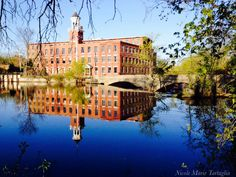 Faulkner Mill-  North Billerica Massachusetts one of the most historic buildings in town! Taken by Nicole Marie Tartaglia