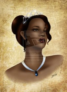 Tiana in Color by *madmoiselleclau on deviantART