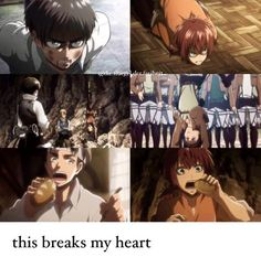 The similarities between Isabel and Eren, ACWNR