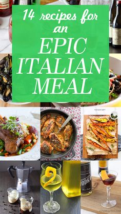 14 Recipes for an Epic and Authentic Italian Meal at Home