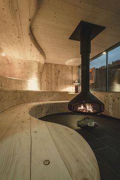 Oper #hanging #fireplace ERGOFOCUS by focus | design Dominique Imbert