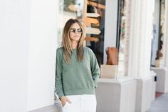 green for spring | on the blog