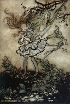 They Will Mischief You (from Peter Pan in Kensington Gardens) by Arthur Rackham.