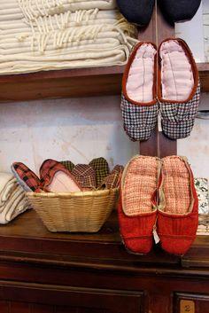 Sleepers.Made in Portugal, Serra da Estrela.100%natural wool, hand made, exclusive.  A Vida Portuguesa