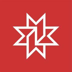 Denver Public Library (Retro) — Designer: John Rieben; Firm: Unimark International, USA; Year: 1970's Logo Inspiration, Trademark Symbol, Library Logo, Restaurant Logo, Cloud Drawing, Logo Branding, Logos, Bold Logo, Flag Logo