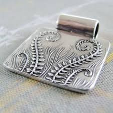 Image result for ocean wave silver clay leaf necklace