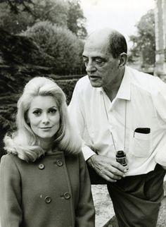 Buñuel, con Catherine Deneuve, protagonista de 'Belle de jour' (1967) y 'Tristana' (1970).