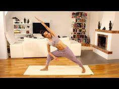 20 Min Core Power: Yoga Programm für sexy Bauch und schlanke Taille - Mittelstufe   German