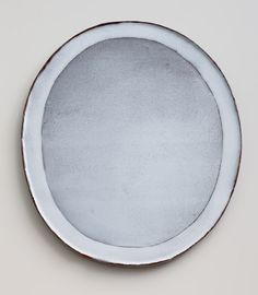 Nina Malterud - Dish, ca 35x40 cm. Earthenware, slips and glazes.