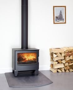 The Westfire Series Two stove is one of the most elegant yet understated traditionally shaped wood burning stoves available. Create a Scandinavian look.