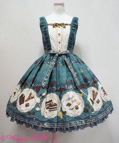 Angelic Pretty Antique Chocolaterie切替ジャンパースカート
