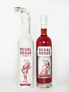 Regal Rogue Rosso dressed & undressed.
