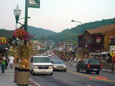 Downtown Gatlinburg, TN