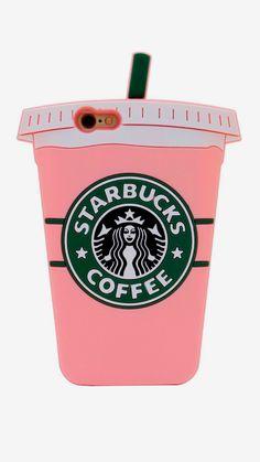 Neon pink 6/7 Starbucks case