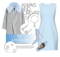 """AMORIUM.com"" by monmondefou ❤ liked on Polyvore featuring Rebecca Taylor, Diane Von Furstenberg, Norma J.Baker, Amorium, women's clothing, women, female, woman, misses and juniors"