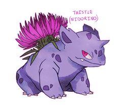 I'll Razzle Yr Dazzle - gh0uli: ivysaur/bulbasaur breed variants. i...