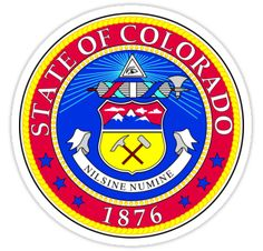 Colorado   State Seal   SteezeFactory.com by FreshThreadShop